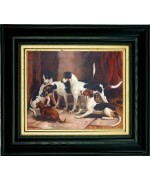 TEMPORARILY OUT OF STOCK <BR><BR> 'Portrait of Favorite Foxhounds'