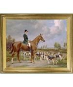 Huntsman on Chestnut Horse'