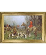 TEMPORARILY OUT OF STOCK <BR><BR> 'Hunting Scene'