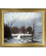 TEMPORARILY OUT OF STOCK   Winter Landscape II'