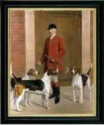 TEMPORARILY OUT OF STOCK <BR><BR> 'Master of the Meynell Hunt'