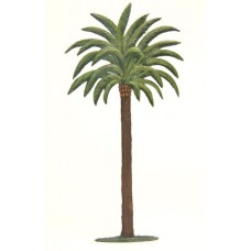 Palm Tree Standing Pewter Wilhelm Schweizer - TEMPORARILY OUT OF STOCK