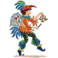 Papageno Standing Pewter Wilhelm Schweizer
