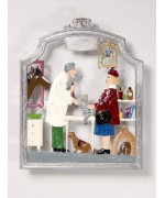 The Vet Window Wall Hanging Wilhelm Schweizer