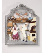 The Bread Baker Window Wall Hanging Wilhelm Schweizer