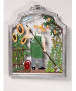 The Gardener Window Wall Hanging Wilhelm Schweizer