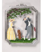 Golf' Window Wall Hanging Wilhelm Schweizer