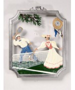 Tennis Window Wall Hanging Wilhelm Schweizer