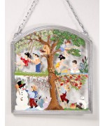Four Seasons Window Wall Hanging Wilhelm Schweizer
