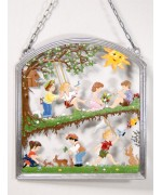 Spring Time Window Wall Hanging Wilhelm Schweizer