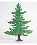 Large Summer Tree Standing Pewter Wilhelm Schweizer
