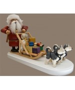 KWO Smokermen Christmas 'Santa Claus Dog Sled'