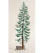Fichte Tree Winter Standing Pewter Wilhelm Schweizer