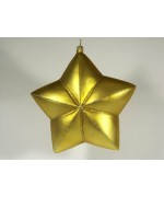 Artglass Ornament 'Gold Star'