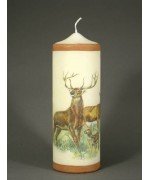 TEMPORARILY OUT OF STOCK <BR><BR> Borgsmueller 'Deer' German Candle