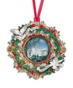 The White House Historical Christmas Ornament Woodrow Wilson - 2013