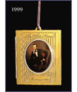 The White House Historical Christmas Ornament Abraham Lincoln - 1999
