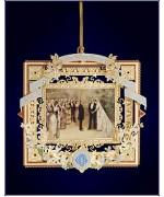 The White House Historical Christmas Ornament Grover Cleveland - 2007
