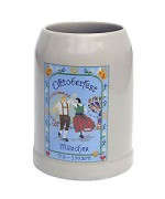TEMPORARILY OUT OF STOCK <BR><BR>  The Official Munich Oktoberfest 2011 Beerstein - 0,5 Liter