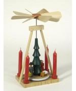 Pyramide Christi Geburt Erzgebirge Wooden Ornament