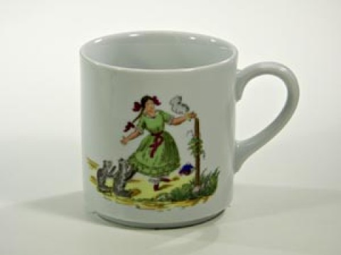 TEMPORARILY OUT OF STOCK - Struwwelpeter Mug 'Paulinchen' Shock-Headed Peter