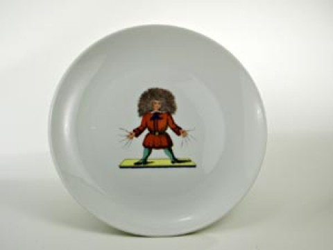 Struwwelpeter Plate 'Struwwelpeter' Shock-Headed Peter