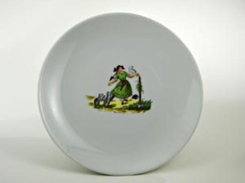 Struwwelpeter Plate 'Paulinchen' Shock-Headed Peter
