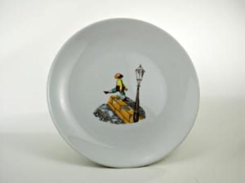 Struwwelpeter Plate 'Hans-Guck-in-die-Luft' Shock-Headed Peter