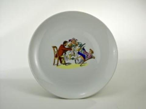 Struwwelpeter Plate 'Zappel Philipp' Shock-Headed Peter