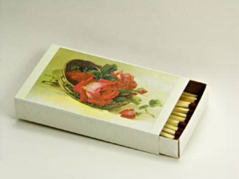 TEMPORARILY OUT OF STOCK <BR><BR> GERMAN 'Rose Matches'